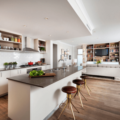 Interior Design Ideas For A Brighter Shared Kitchen & Dining Room