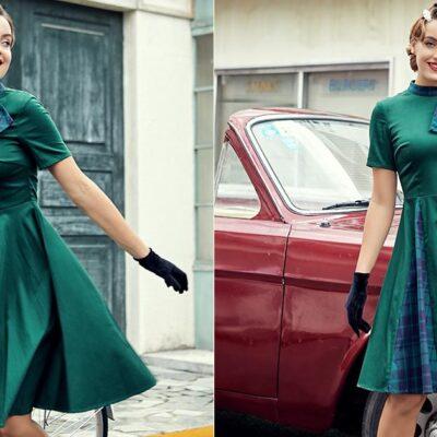Where to get cheap and beautiful tartan dresses